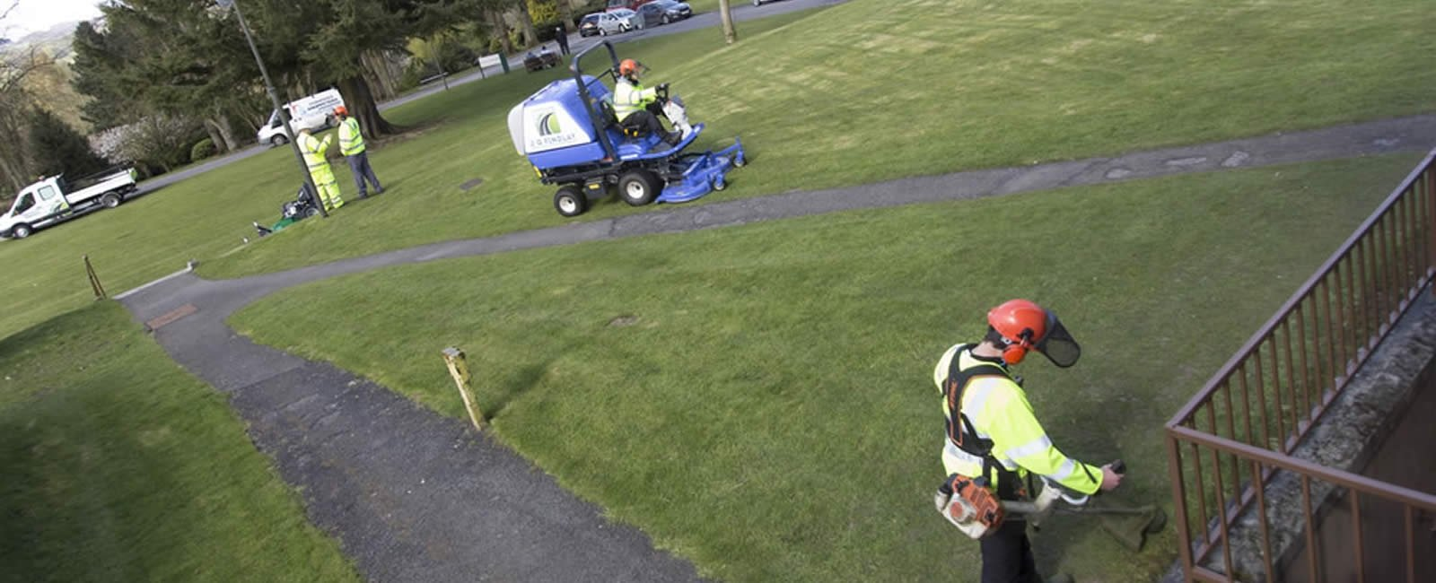 Grounds maintenance Dumfries