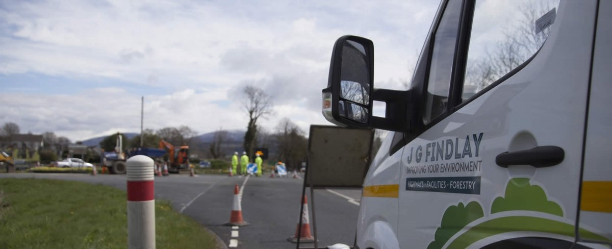J G Findlay highways management Dumfries & Galloway